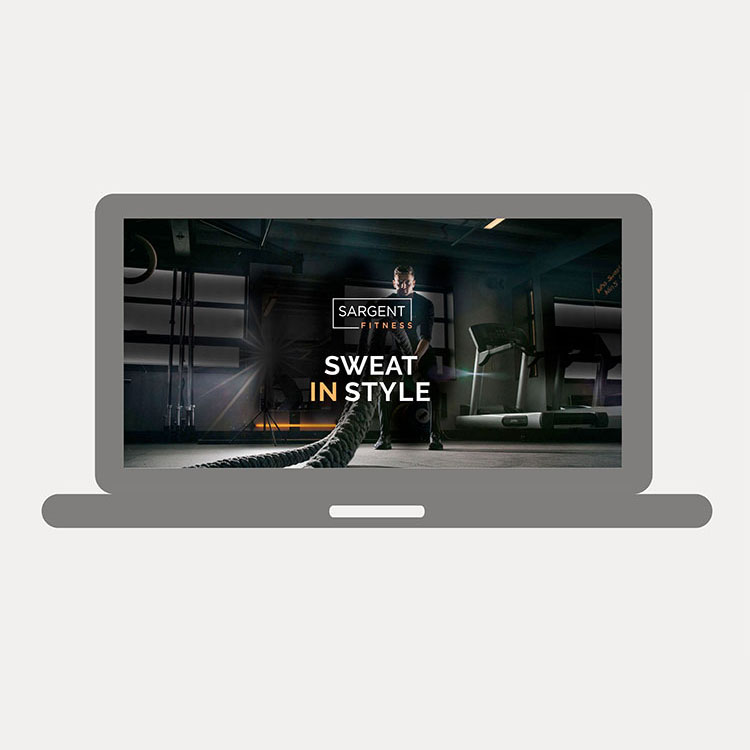 Sargent Fitness Website deisng & build
